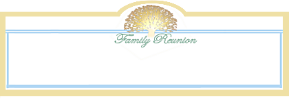 Five family reunion themes with planning software and for Reunion banners design templates